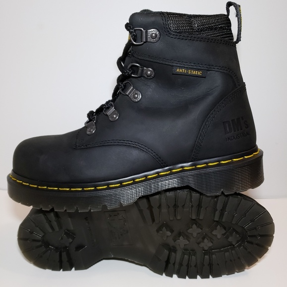 2b10ce41174 Dr. Martens Industrial Steel Toe Work Boots Men's